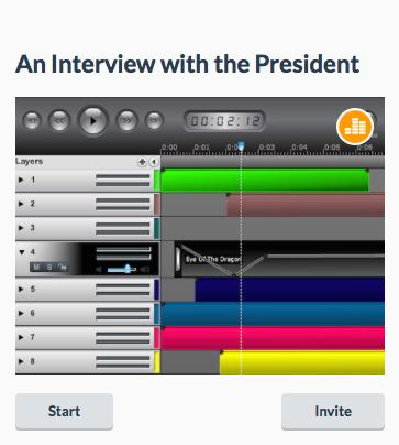 An interview with the President