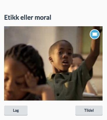 Etikk og moral