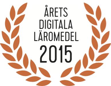 Årets digitala läromedel