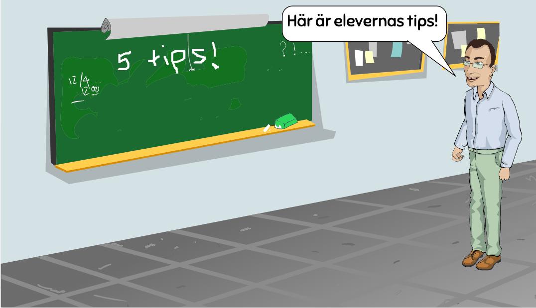 Fjärrundervisnings tips för elever